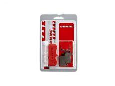 SRAM Disc brake pad Set for Road,/Level Ultimate/TLM Organic pad Steel plate