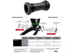 SRAM Bottom bracket DUB English/BSA 68/73 mm