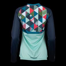 Peahi Long Sleeve Women's Jersey - Mint