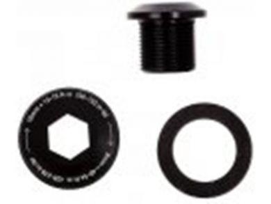 SRAM Crank Arm Bolt, M15/M22 Alloy Self-Extracting, GXP Black
