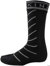 Sealskinz Super Thin Pro Mid Sock with Hydrostop Musta