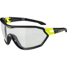 Alpina S-WAY QVM+ Black-Yellow/Black Varioflex