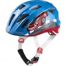 Alpina Ximo Flash Lasten pyöräilykypärä integroidulla takavalolla
