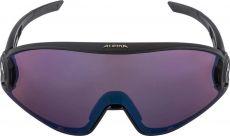 Alpina 5W1NG Q+VM Black Matt / Blue Mirror