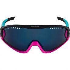 Alpina 5W1NG CM+ Blue-Magenta-Black/Fogstop Blue Mirror