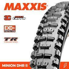 Maxxis Minion DHR II 3C MaxxTerra EXO+ TR 27.5x2.80 120tpi