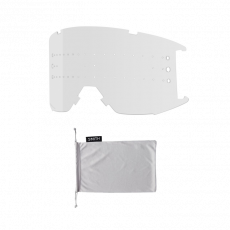 SMITH SQUAD MTB Tusk ChromaPop Sun Black / Clear AF