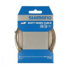 Shimano Vaihdevaijeri MTB/Road rosteri 1kpl, 1,2mmx2100mm