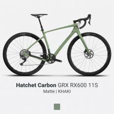 Devinci Hatchet Carbon GRX RX600 11S Khaki