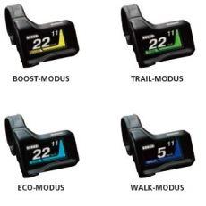 Pyörätietokone STEPS SC-E8000 Näyttö