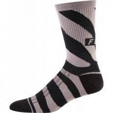 FOX WOMENS 8 INCH PRINT TRAIL SOCKS PUR HZ