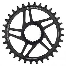 Wolf Tooth Direct Mount Chainrings for Shimano Cranks for Shimano 12spd Hyperglide+ Chain